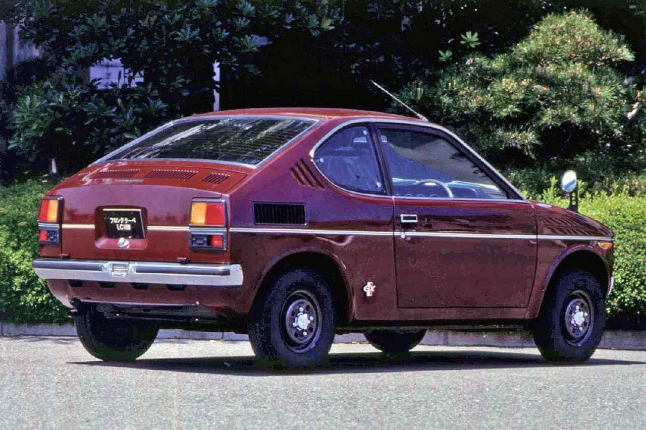 画像: デビュー時はGX/GE/GERの3グレードが設定され、GERはラジアルタイヤを装着していた。(写真はGX)