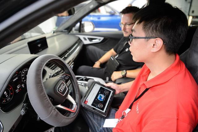 画像: Audi Twin Cupはサービス品質向上を目的とした技能コンテスト。今回アウディ ジャパンは世界大会でのツインカップ獲得を目指して準備を進めていた。