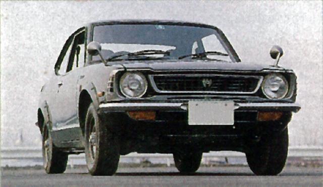 画像: 1973年4月、オーバーフェンダーなど外観はレビンと同じだが、心臓部には2T-B型1.6L OHVにツインキャブの105ps/14.0kgmエンジンを積んだレビンJ(ジュニア)が加えられた。
