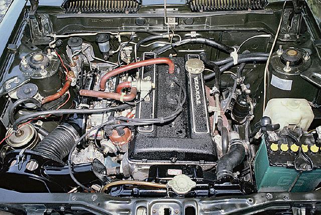 画像: T型エンジンのヘッドをDOHC化して生まれたトヨタのスポーツエンジン2T-G。ソレックスキャブ2基により115ps/14.5kgmを発生した。