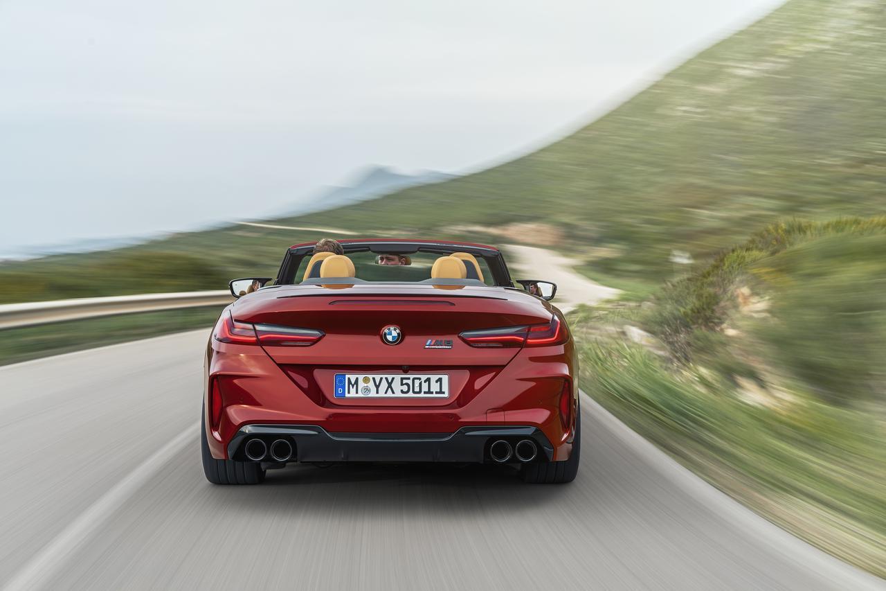 Images : 4番目の画像 - BMW M8 カブリオレ コンペティション - Webモーターマガジン