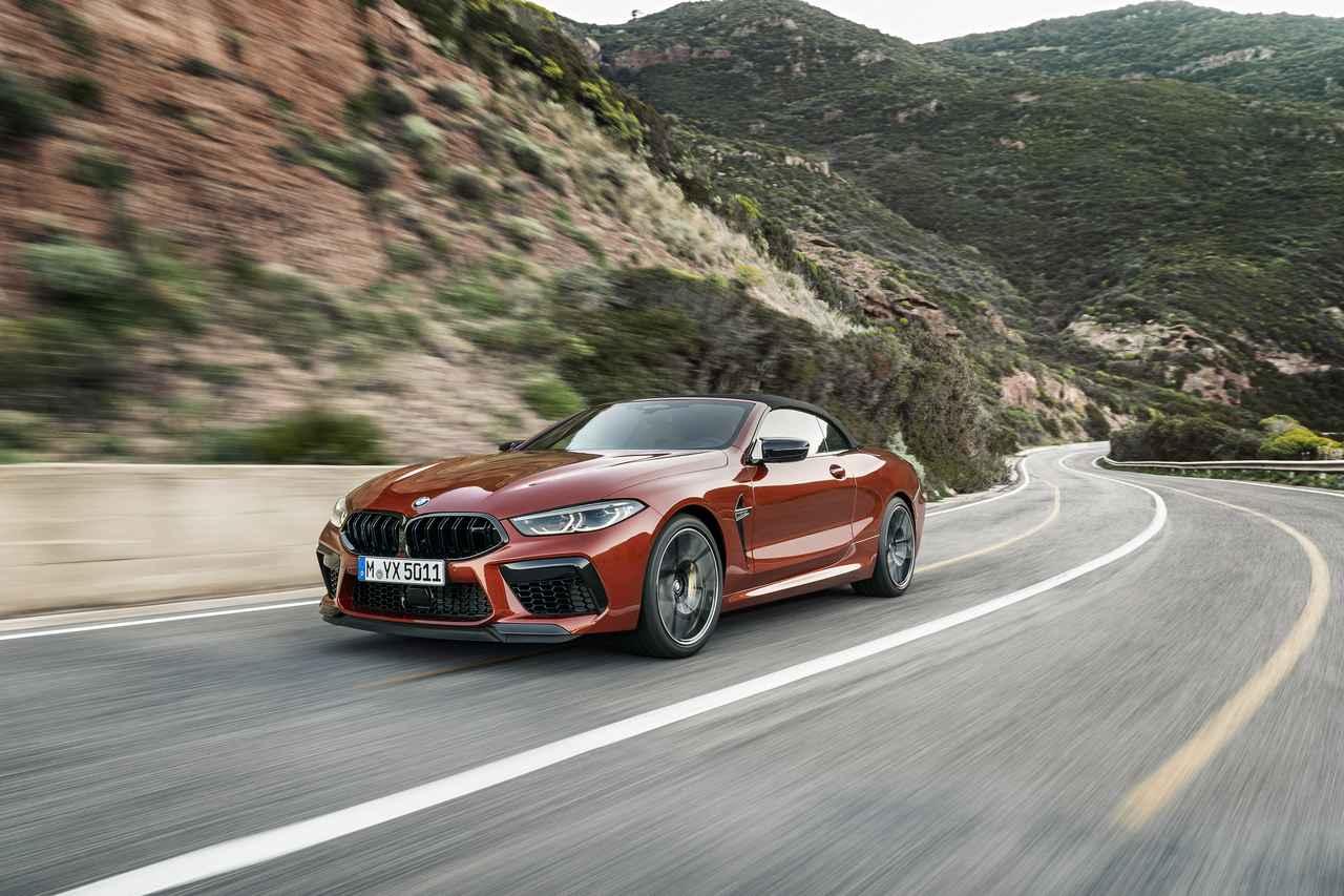 Images : 1番目の画像 - BMW M8 カブリオレ コンペティション - Webモーターマガジン