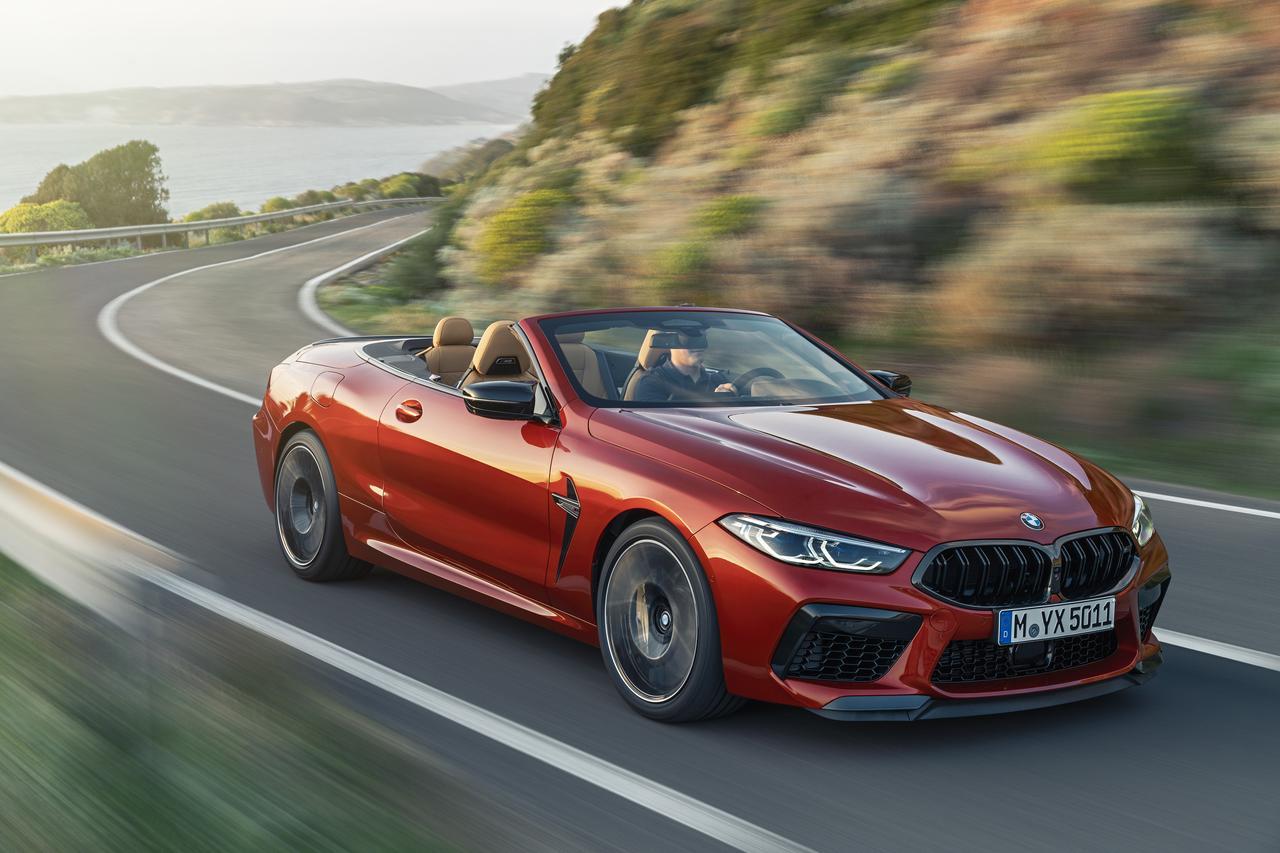 Images : 3番目の画像 - BMW M8 カブリオレ コンペティション - Webモーターマガジン