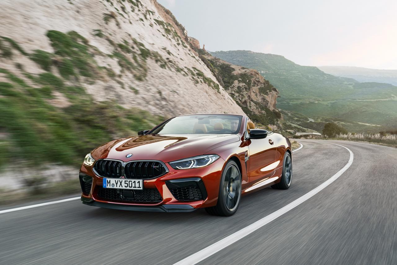Images : 2番目の画像 - BMW M8 カブリオレ コンペティション - Webモーターマガジン