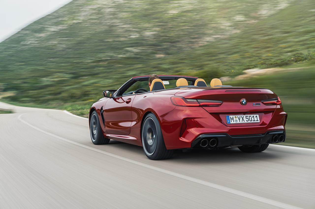 Images : 5番目の画像 - BMW M8 カブリオレ コンペティション - Webモーターマガジン