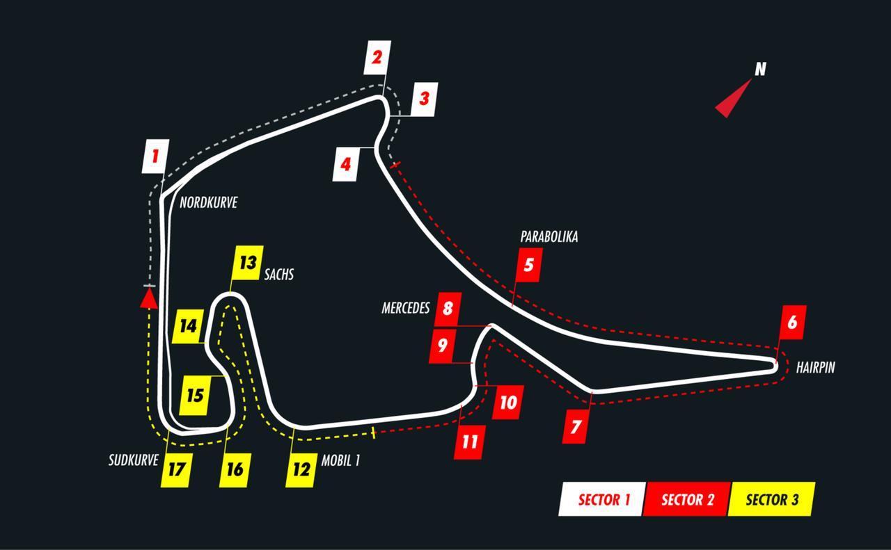 Images : 1番目の画像 - F1第11戦ドイツGPプレビュー - Webモーターマガジン
