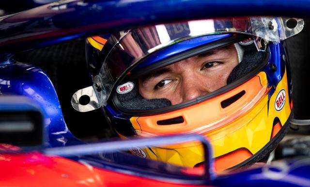 画像: アレクサンダー・アルボン(トロロッソ・ホンダ)。予選17番手。