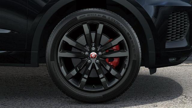 画像: 20インチ5スピリットスポーク「スタイル5051」。赤のブレーキキャリパーがアクセントになっている。