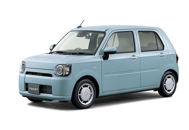 画像: ダイハツの軽自動車ムーブ、キャストのほか、このミラトコットにも特別仕様車が用意された。