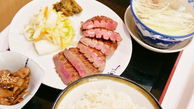 画像: 仙台の有名店である「利休」がレストランを出店。「牛たん極み定食(3枚6切)」は2494円。