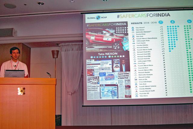 画像: インド製のクルマも数年前から安全装備は急速に進んでいると語る、グローバルNCAPとラテンNCAP事務局長のA.フラス氏。