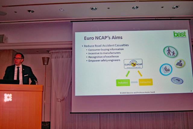 画像: ユーロNCAPの現状と将来を詳しく語る、ユーロNCAP レーティングチーフのA.ジーク氏。