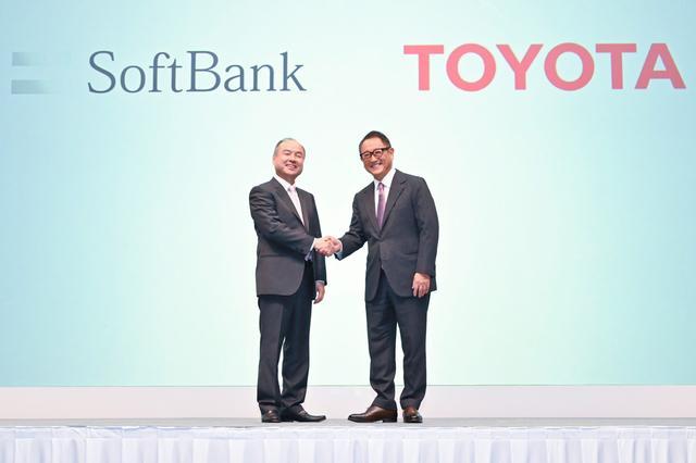 画像: トヨタとソフトバンクの提携は自動車産業に大きなインパクトを与えた。