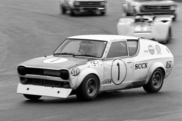 画像: 1972年のレースドニッポンに参戦するチェリー。ドライバーは星野一義選手だ!