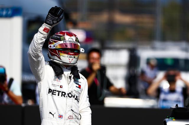画像: ルイス・ハミルトン(メルセデスAMG)。ポールを獲得したものの決勝は9位に終わる。