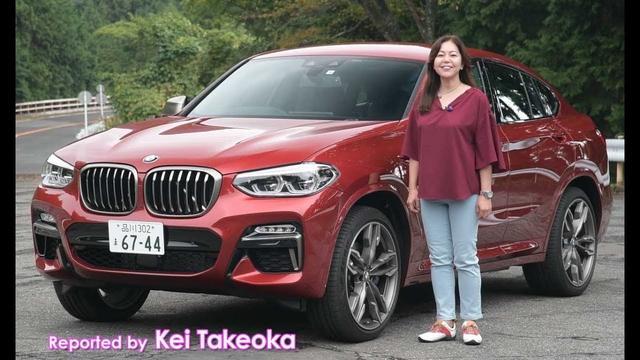 画像: 竹岡 圭の今日もクルマと・・・BMW X4 TestDrive youtu.be