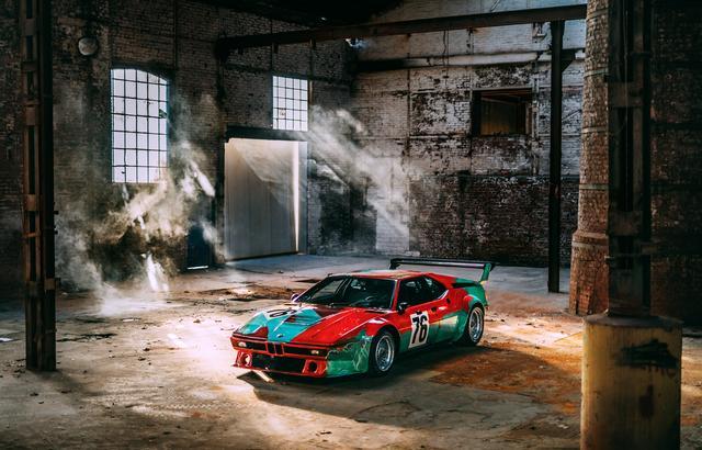 """画像2: 【ニュース】世界一有名なBMW M1のアートカー """"生誕40年""""を祝い最新ショットを公開"""