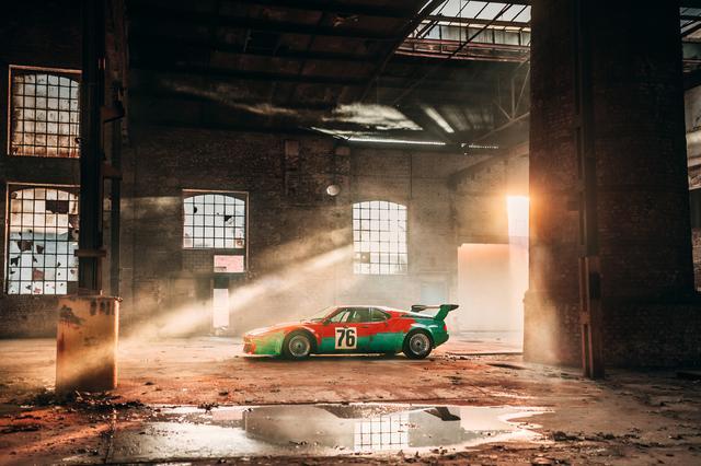 """画像5: 【ニュース】世界一有名なBMW M1のアートカー """"生誕40年""""を祝い最新ショットを公開"""