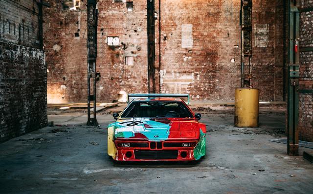 """画像3: 【ニュース】世界一有名なBMW M1のアートカー """"生誕40年""""を祝い最新ショットを公開"""
