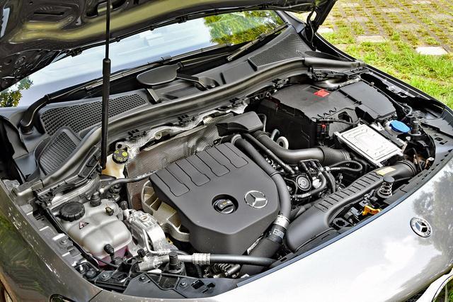 画像: 1.3Lターボエンジンのパワースペックや組み合わされる7速DCTはA180と同じ。