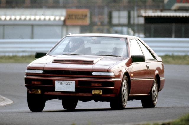 画像: 1983年8月フルモデルチェンジしたS12型シルビア/ガゼールにも搭載され、ボンネットの大型バルジが目を引いた。