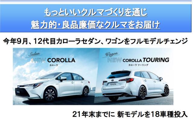 画像: 2019年8月2日の決算発表会では「21年末までに新モデルを18車種投入」と発表。そして、Webモーターマガジンが具体的な車名を予想したのが上記のリストだ。