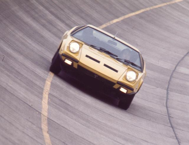 画像: モーターマガジン誌で行った谷田部のテストで、パンテーラGTSは最高速度234.53km/h、0→400m加速14.49秒をマークした。