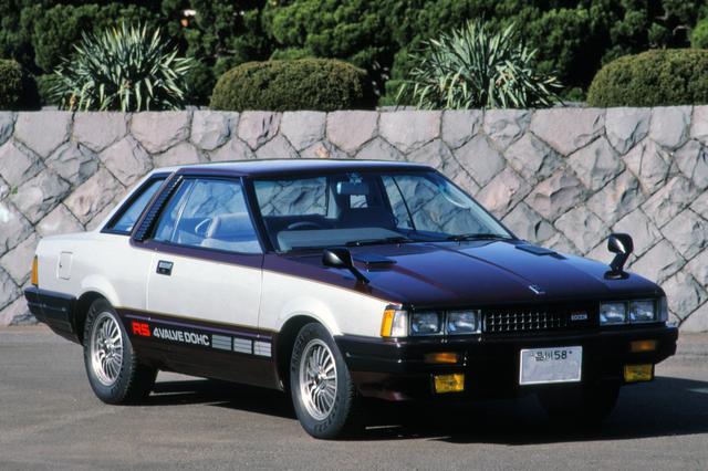画像: 1982年4月、S110型シルビア(および姉妹車のガゼール)にもFJ20Eを搭載したRSが登場した。