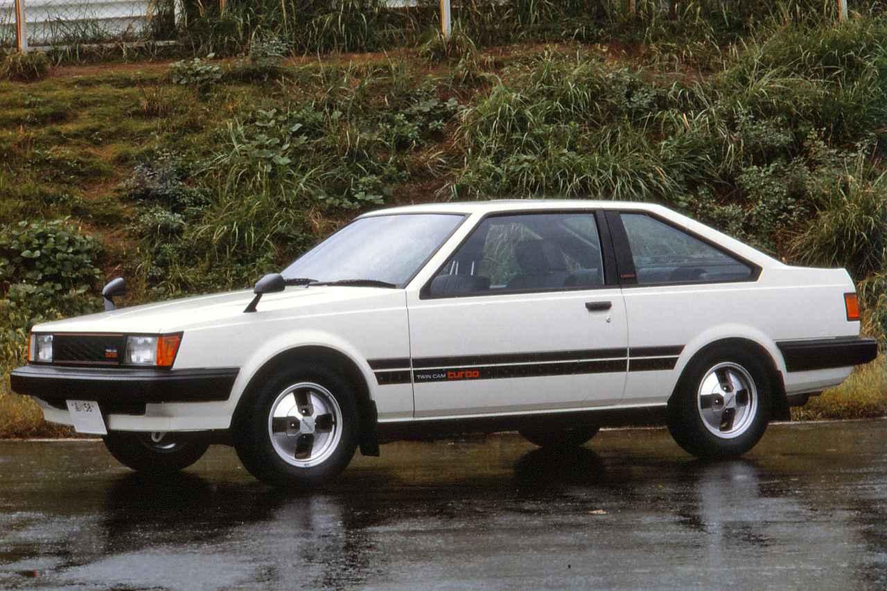 画像: セリカ、コロナと同時に姉妹車のカリーナにも3T-GTEUを搭載。写真の3ドアクーペはGT-T、4ドアセダンはGT-TRと名づけられた。