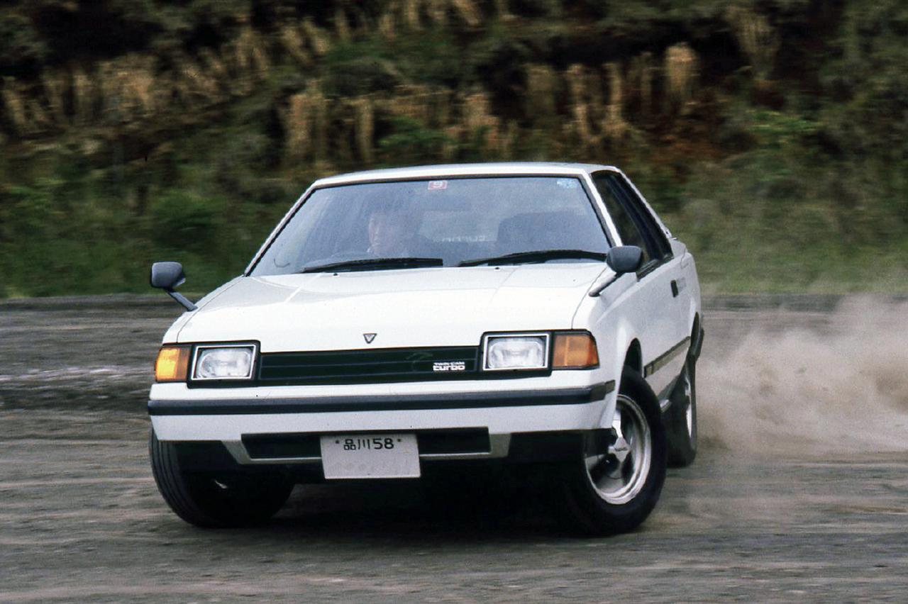 画像: 3T-GTEUを搭載して1982年10月に発売されたセリカ1800GT-T。A60型セリカの最強バージョンで、剛性に配慮しLBでなくクーペが選ばれた。