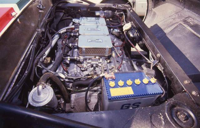 画像: 搭載されるエンジンは、フェラーリのディーノ246GTに搭載されたV6DOHCユニット。ラリーバージョンでは、280ps/26.0kgmを発生した。