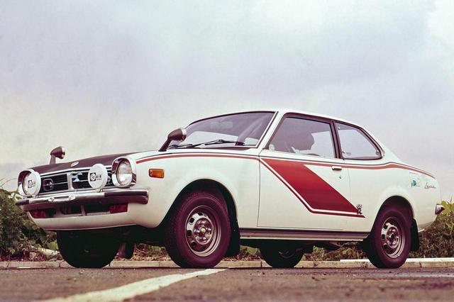 画像: 三菱 ランサー 1600GSR:昭和48年(1973年)8月発売