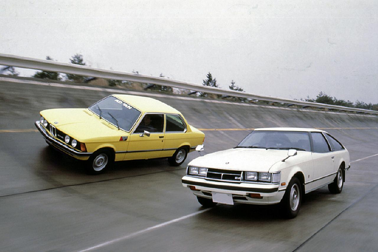 画像: モーターマガジン誌では、BMW323iとの比較テストも行われた。