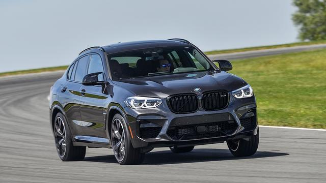 画像: BMW M社の手によりサーキット走行を念頭に開発されたX3MとX4M。これはX4M。