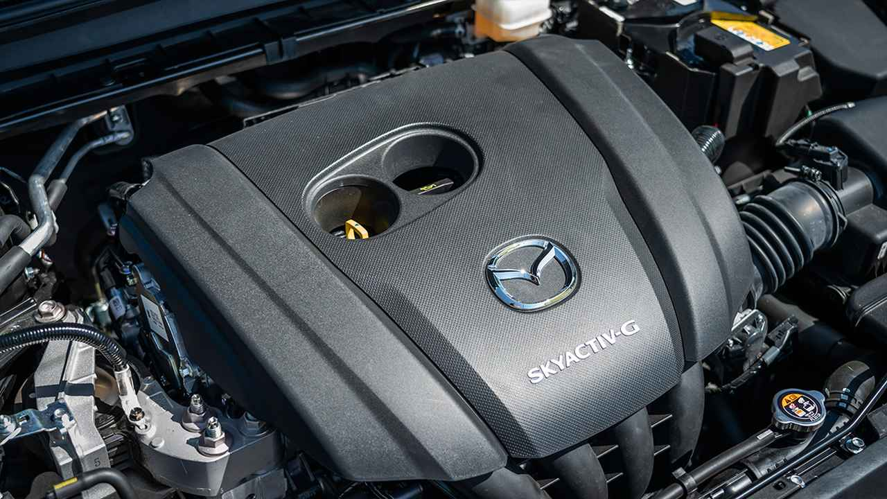 画像: パワーソースは2Lガソリンエンジン(SKYACTIV-G)+マイルドハイブリッド。