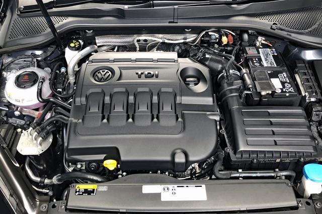 画像: ゴルフ TDI のディーゼルターボエンジンは150psと340Nmを発生する。