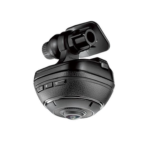 画像: 【カー用品】カーメイトから、ドラレコにもアクションカメラにもなる! 全天周360度カメラ登場 - Webモーターマガジン