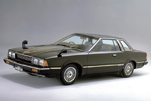 画像: 販売チャンネルの関係で兄弟車のガゼールも登場。79年8月にはハッチバック車を追加し、80年6月にはサンルーフ車を設定して装備の充実を図った。