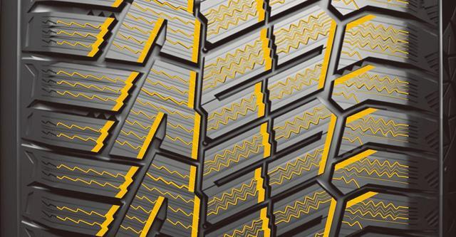 画像: ゲッコーグラブパターン。3Dトライアングルエッジや波型サイプなどを組み合わせる。