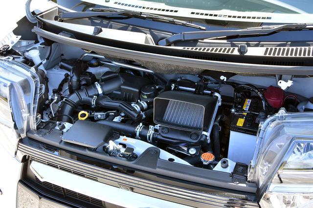 画像: ターボエンジンは十分パワフル。スプリットギアを組み込んだCVTとの相性も良い。