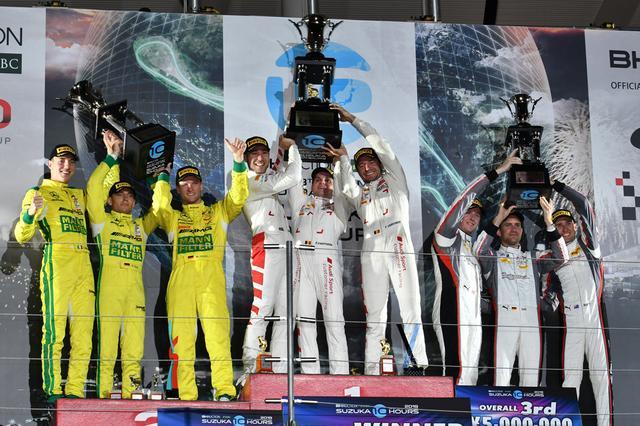 画像7: RSモデル25周年記念カラーのアウディR8 LMSが完勝!KCMG GT-Rが総合6位【鈴鹿10時間耐久レース】