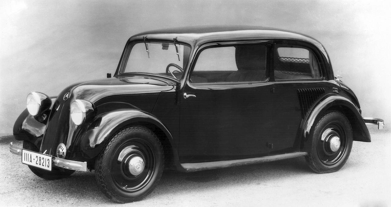 Images : 3番目の画像 - ベンツ小型車の歴史 2 - Webモーターマガジン