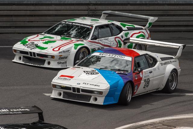 画像: F1グランプリの前座として開催されたPro Carシリーズで人気を博したBMW M1。