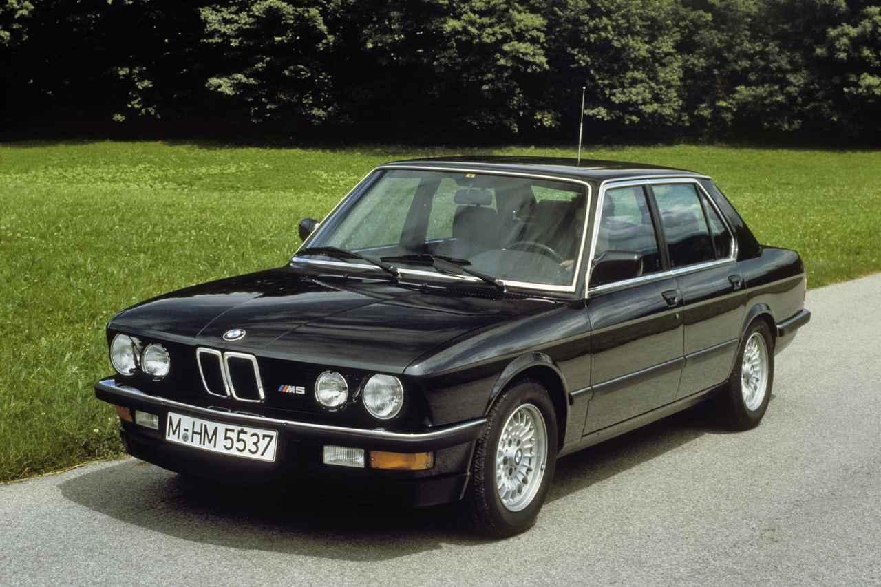 Images : 1番目の画像 - 初代BMW M5(E28) - Webモーターマガジン
