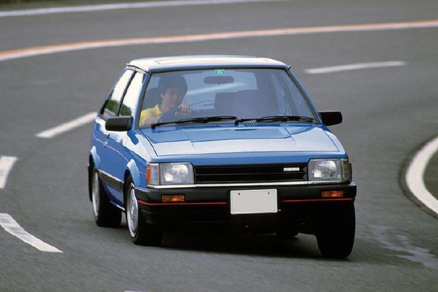 画像: 1983年6月、非力なエンジンを解消するためにターボモデルが設定された。