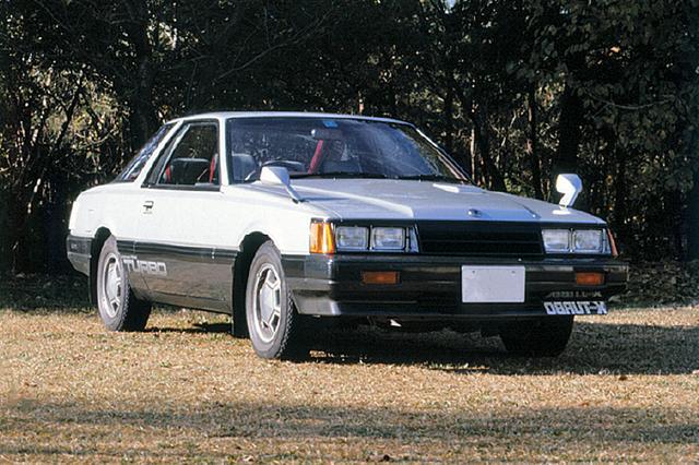 画像: 1981年7月に追加されたターボモデル。写真は姉妹車のレパードTRーXターボ。