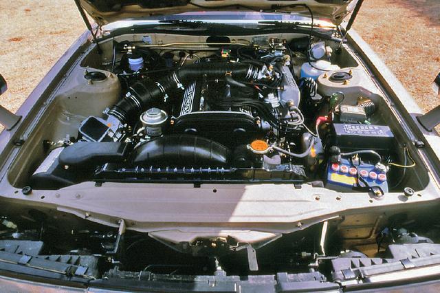 画像: 5M-GEUエンジンは2.8Lの6気筒DOHCで、最高出力170ps、最大トルク24.0kgmだが、当時は日本のGT史上最強のスペックを誇っていた。