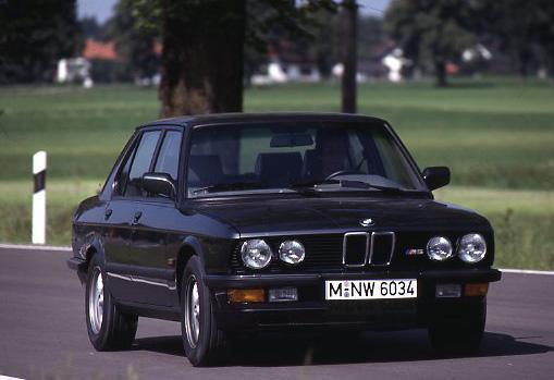 Images : 7番目の画像 - 初代BMW M5(E28) - Webモーターマガジン