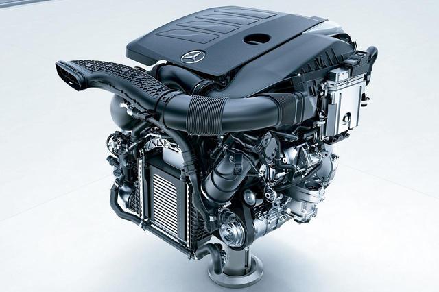画像: メルセデス・ベンツ C180に新たに搭載される1.5L 直4ターボエンジン「M264」。