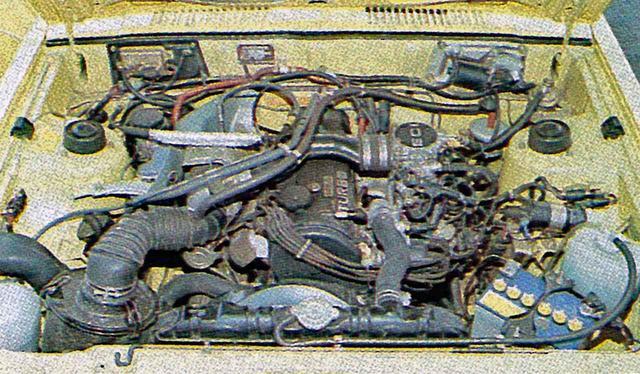 画像: 1800のGTとGSRに搭載されたシリウス1800ターボエンジン。三菱独自のサイレントシャフト付きで振動を抑えた設計だった。